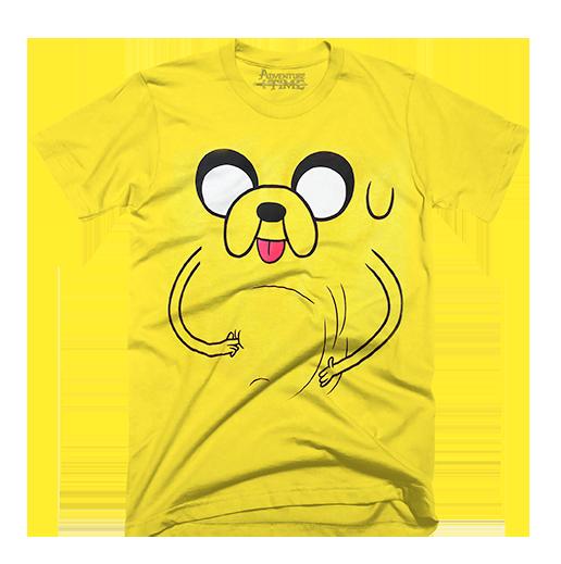 Playera oficial de Adventure Time para niño. Color amarillo d37fbf4b9a0dd