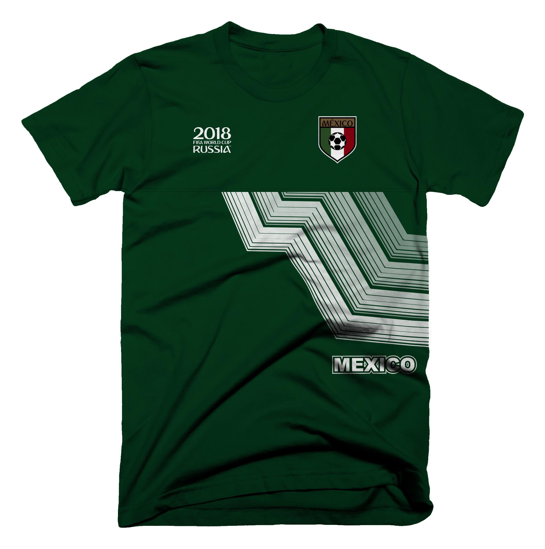 02fd1d4953002 Playera Deportiva México 2018 - Aurimoda